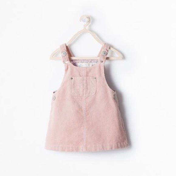 color brilliancy no sale tax wholesale Baby Zara Corduroy Pinafore dress